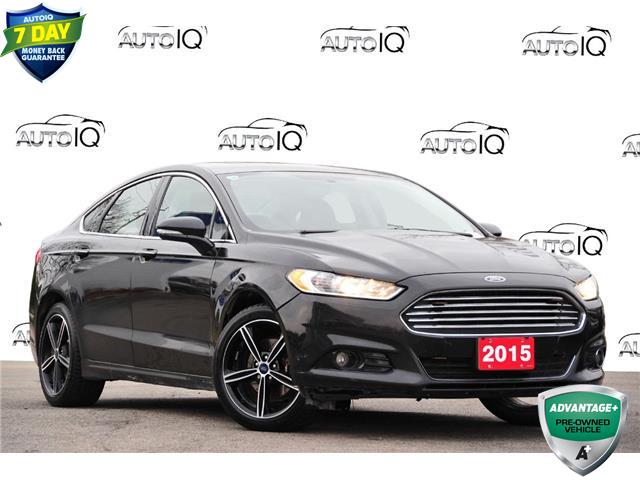 2015 Ford Fusion Titanium Black