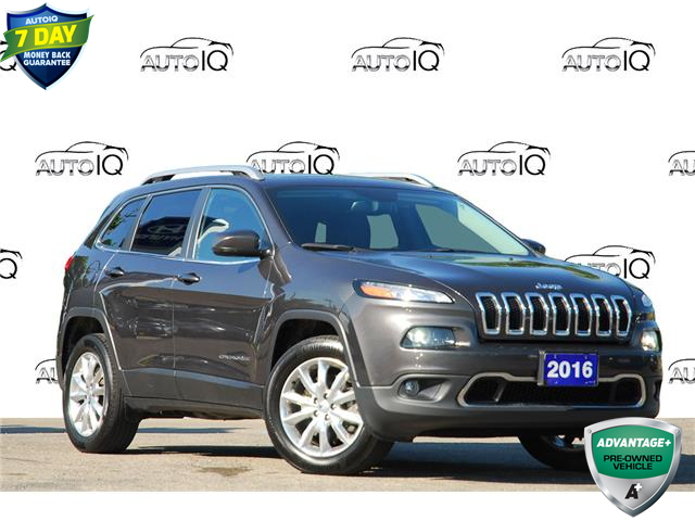 2016 Jeep Cherokee Limited (Stk: P60025AX) in Kitchener - Image 1 of 20