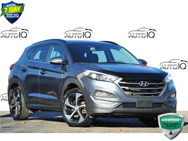 2016 Hyundai Tucson Limited Grey