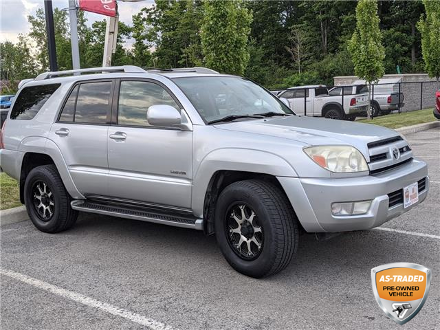 2003 Toyota 4Runner Limited V8 (Stk: 7213AXZ) in Welland - Image 1 of 7