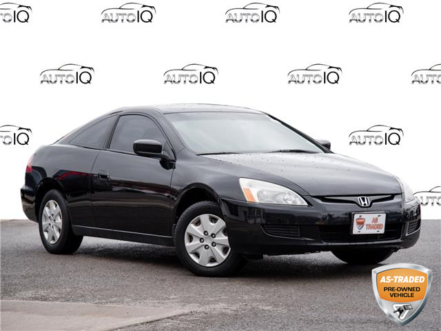 2003 Honda Accord LX-G Black