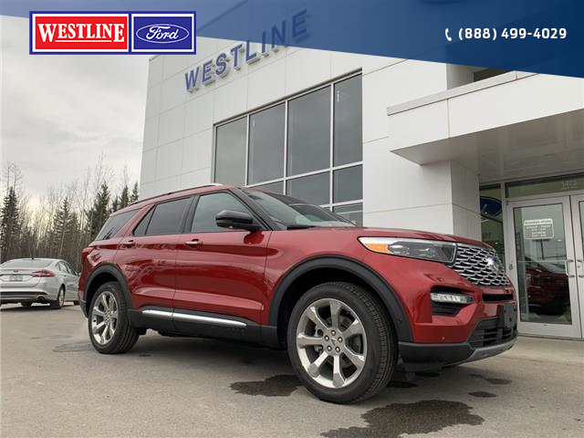 2020 Ford Explorer Platinum (Stk: 4230) in Vanderhoof - Image 1 of 26