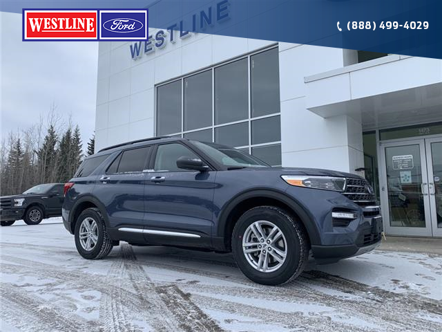 2021 Ford Explorer XLT (Stk: 4913) in Vanderhoof - Image 1 of 22