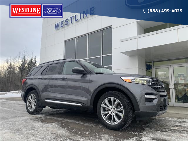 2021 Ford Explorer XLT (Stk: 4917) in Vanderhoof - Image 1 of 21