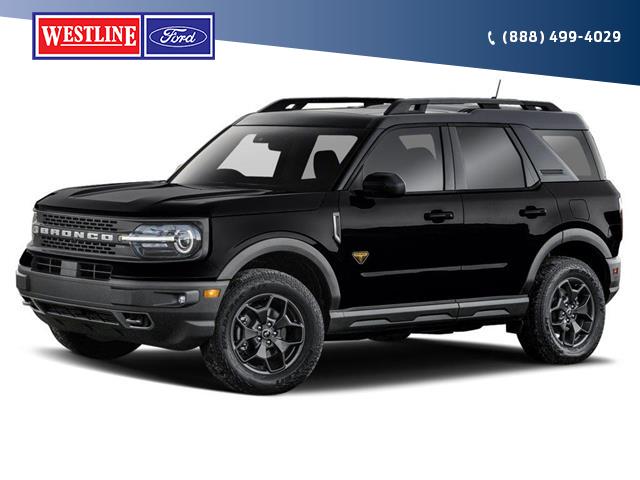 2021 Ford Bronco Sport Outer Banks (Stk: 4930) in Vanderhoof - Image 1 of 2