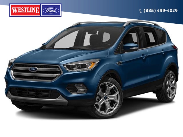 2018 Ford Escape Titanium (Stk: 4935A) in Vanderhoof - Image 1 of 9
