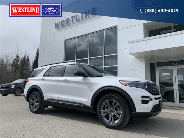 2021 Ford Explorer XLT (Stk: 4956) in Vanderhoof - Image 1 of 23