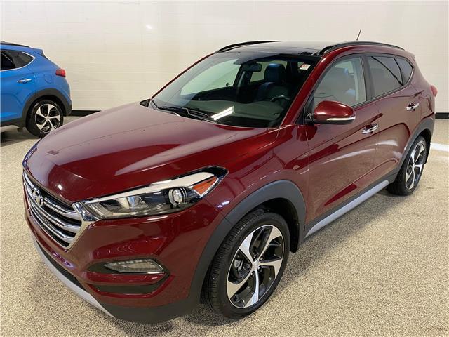 2017 Hyundai Tucson SE (Stk: A12314) in Calgary - Image 1 of 17