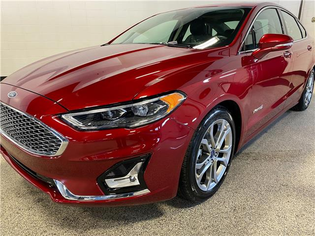 2019 Ford Fusion Hybrid Titanium (Stk: P12392) in Calgary - Image 1 of 19