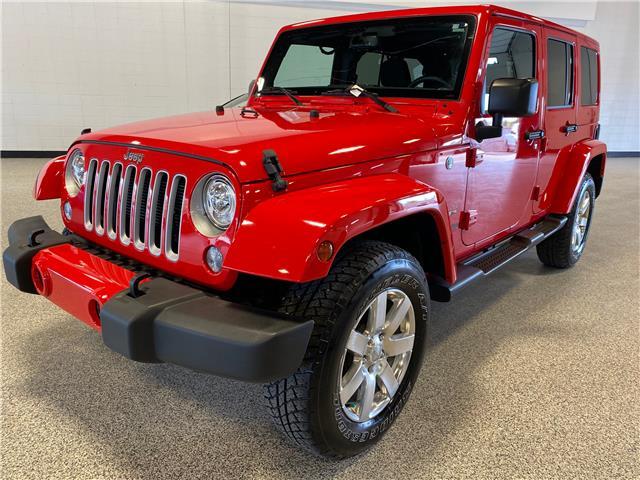 2018 Jeep Wrangler JK Unlimited Sahara (Stk: P12426) in Calgary - Image 1 of 18