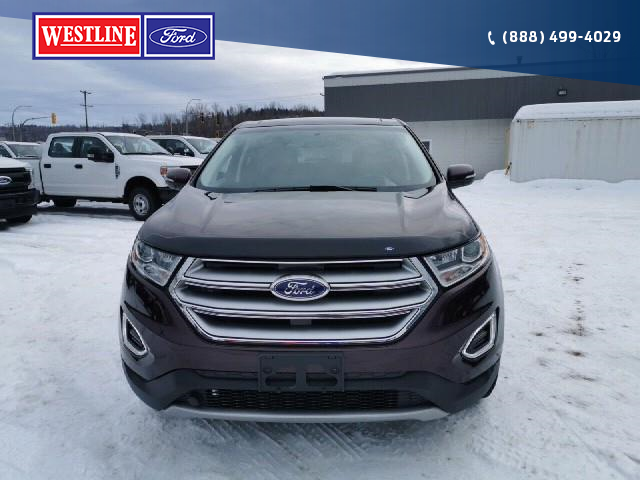 2018 Ford Edge Titanium (Stk: 20T032A) in Quesnel - Image 2 of 23