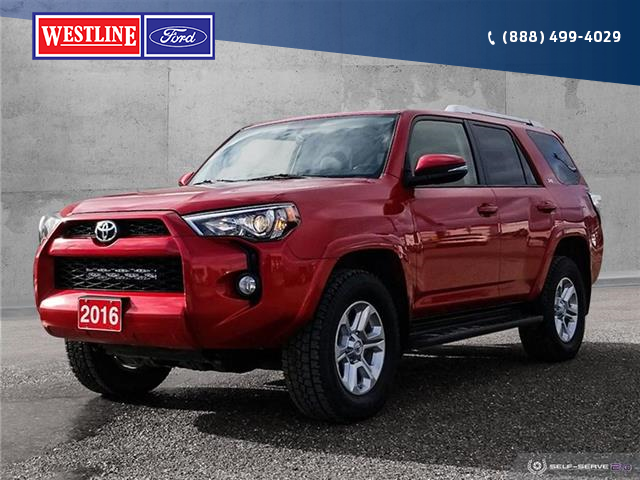 2016 Toyota 4Runner SR5 (Stk: 19164A) in Quesnel - Image 1 of 25