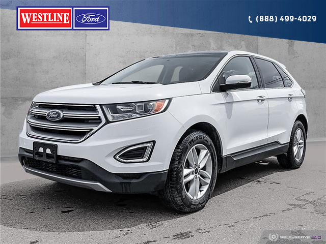2016 Ford Edge SEL (Stk: 19T148A) in Quesnel - Image 1 of 25