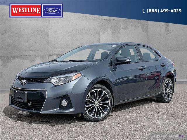 2016 Toyota Corolla S (Stk: 20113AL) in Dawson Creek - Image 1 of 25