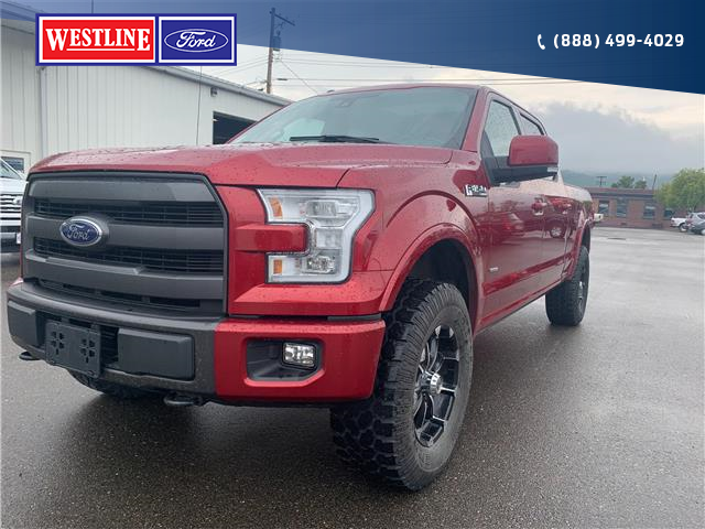 2015 Ford F-150 Lariat (Stk: 20T131A) in Quesnel - Image 1 of 22