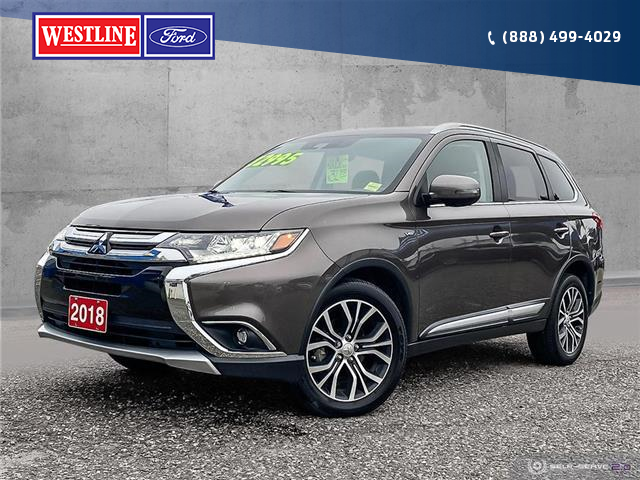 2018 Mitsubishi Outlander GT (Stk: 8728) in Quesnel - Image 1 of 25