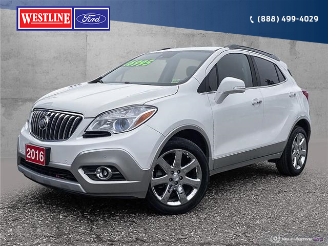 2016 Buick Encore Premium (Stk: 20121A) in Quesnel - Image 1 of 25