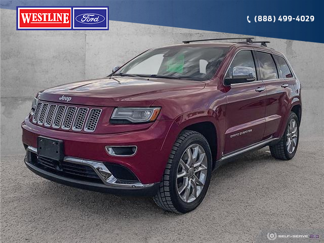 2014 Jeep Grand Cherokee Summit (Stk: 20T199A) in Williams Lake - Image 1 of 22