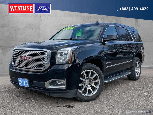 2016 GMC Yukon Denali (Stk: 21070A) in Quesnel - Image 1 of 25