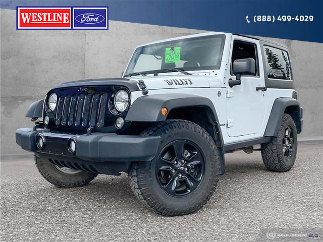 2014 Jeep Wrangler Sport (Stk: 21076A) in Quesnel - Image 1 of 25