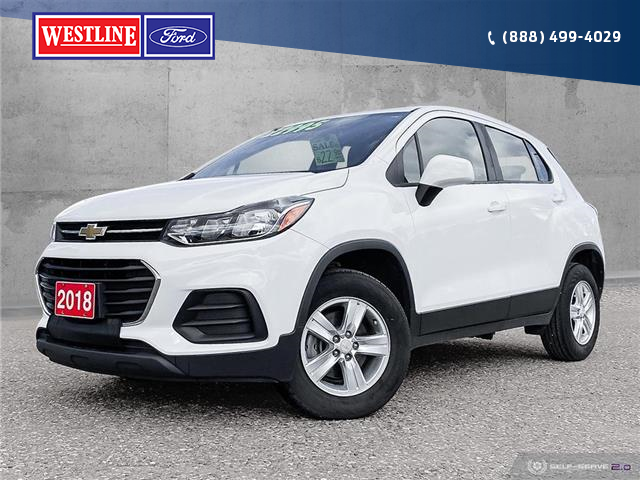 2018 Chevrolet Trax LS (Stk: 21045A) in Quesnel - Image 1 of 25