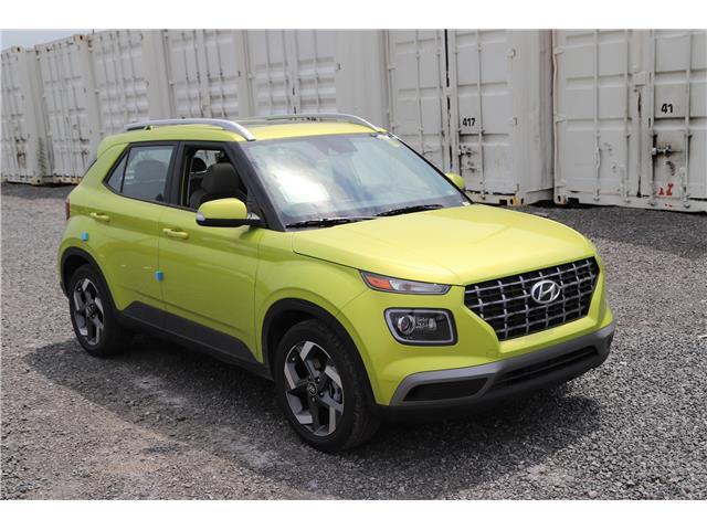 2020 Hyundai Venue Ultimate w/Grey-Lime Interior (Stk: R05948) in Ottawa - Image 1 of 10