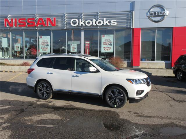 2019 Nissan Pathfinder Platinum (Stk: 8024) in Okotoks - Image 1 of 33