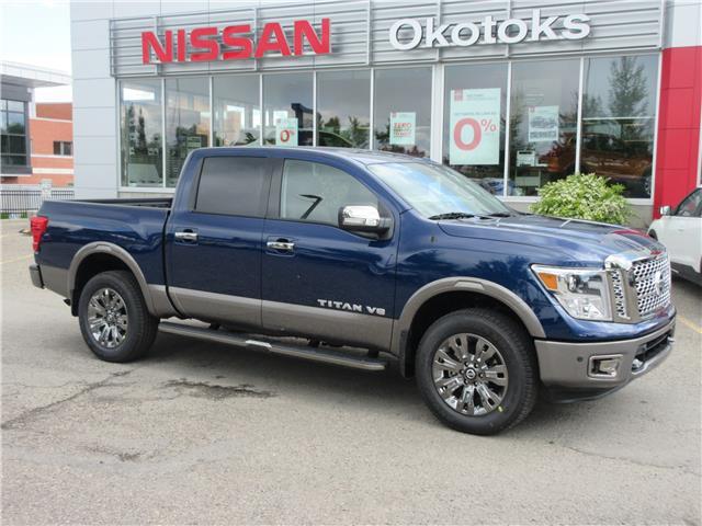 2019 Nissan Titan Platinum (Stk: 9544) in Okotoks - Image 1 of 20