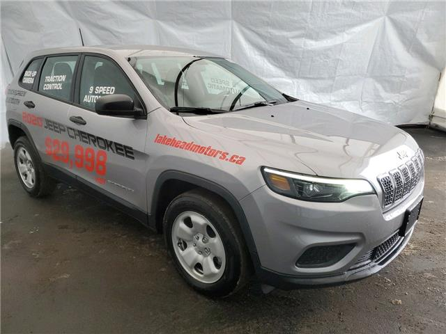 2020 Jeep Cherokee Sport (Stk: 201094) in Thunder Bay - Image 1 of 17