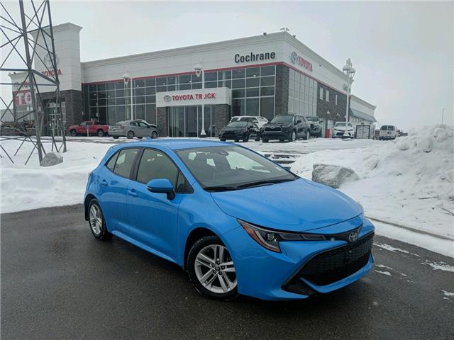 2019 Toyota Corolla Hatchback Base (Stk: 3049) in Cochrane - Image 1 of 16