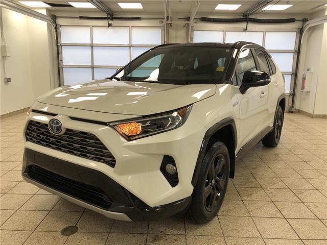 2021 Toyota RAV4 Hybrid XLE (Stk: 210018) in Cochrane - Image 1 of 30