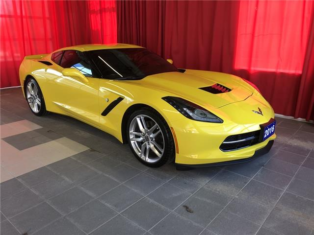 2016 Chevrolet Corvette Stingray Z51 (Stk: BB0793) in Listowel - Image 1 of 16