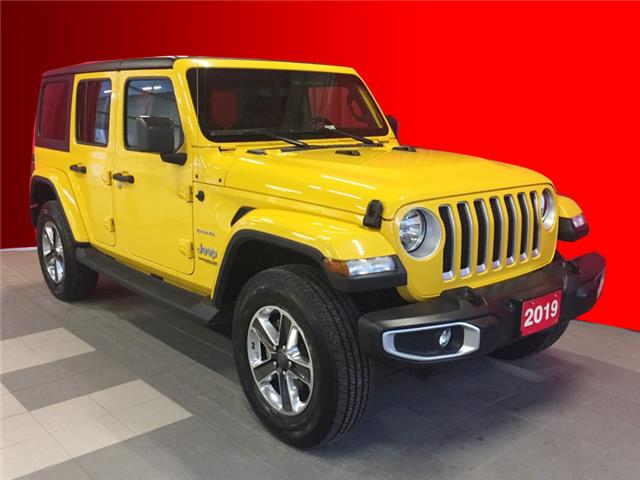 2019 Jeep Wrangler Unlimited Sahara (Stk: BB0514) in Listowel - Image 1 of 13