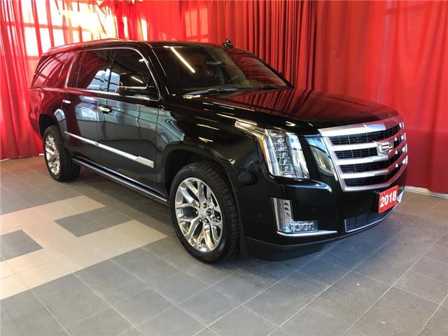 2018 Cadillac Escalade ESV Premium Luxury (Stk: 20-546A) in Listowel - Image 1 of 18