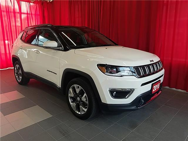 2018 Jeep Compass Limited (Stk: 20-1369A) in Listowel - Image 1 of 16