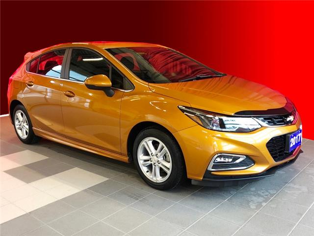 2017 Chevrolet Cruze Hatch LT Auto (Stk: B5510) in Listowel - Image 1 of 15