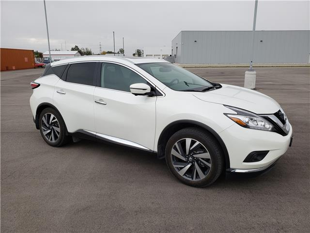 2018 Nissan Murano Platinum (Stk: S21080A) in Stratford - Image 1 of 5