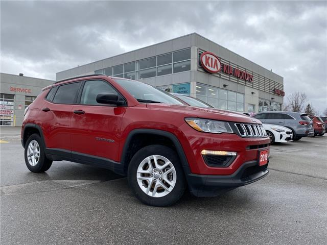 2018 Jeep Compass Sport (Stk: P10605A) in Hamilton - Image 1 of 16