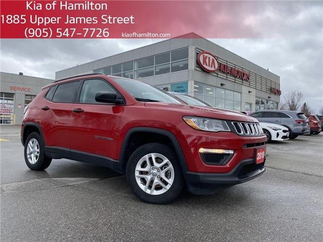 2018 Jeep Compass Sport (Stk: P10605A) in Hamilton - Image 1 of 17