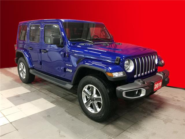 2019 Jeep Wrangler Unlimited Sahara (Stk: BB0506) in Listowel - Image 1 of 14