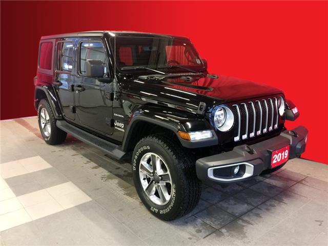 2019 Jeep Wrangler Unlimited Sahara (Stk: BB0517) in Listowel - Image 1 of 16