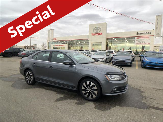 2015 Volkswagen Jetta Turbocharged Hybrid Base (Stk: 8908A) in Calgary - Image 1 of 26
