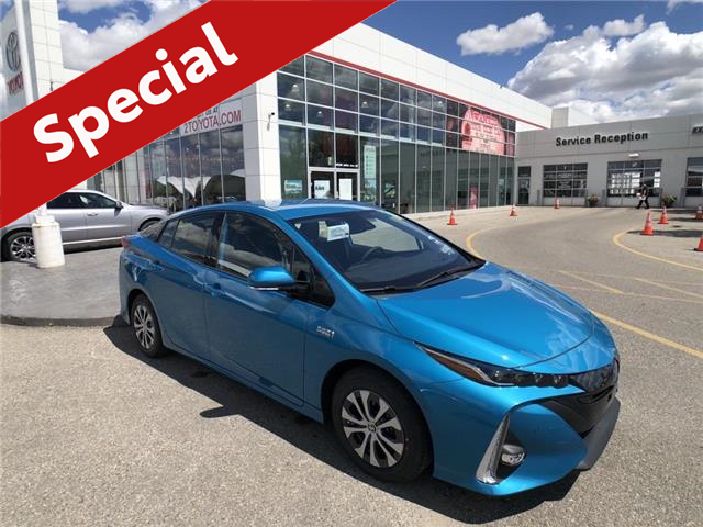 2020 Toyota Prius Prime Upgrade (Stk: 200605) in Calgary - Image 1 of 17