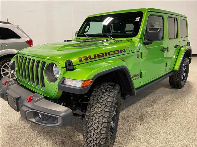 2019 Jeep Wrangler Unlimited Rubicon (Stk: P12376) in Calgary - Image 1 of 24