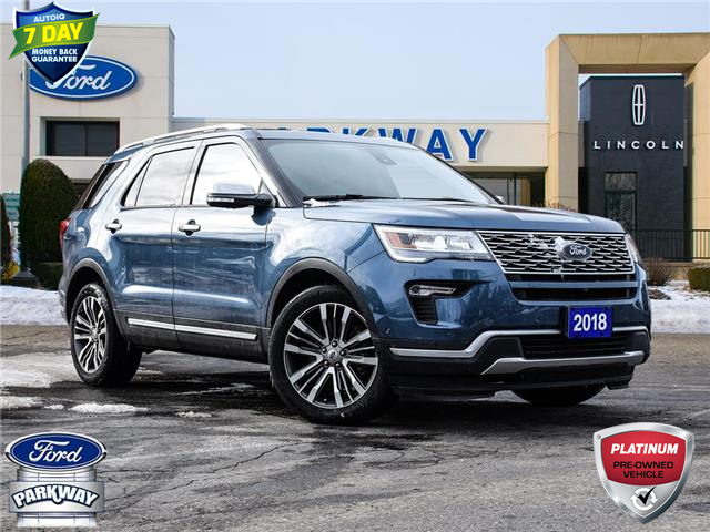 2018 Ford Explorer Platinum (Stk: ZA312A) in Waterloo - Image 1 of 29
