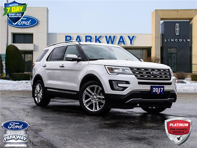 2017 Ford Explorer Limited (Stk: XB038A) in Waterloo - Image 1 of 30