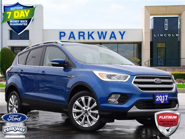 2017 Ford Escape Titanium (Stk: ZB070A) in Waterloo - Image 1 of 28