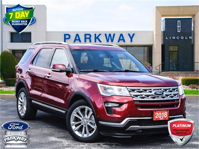 2018 Ford Explorer Limited (Stk: LP0690) in Waterloo - Image 1 of 29