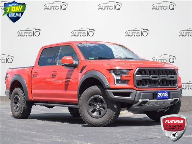 2018 Ford F-150 Raptor (Stk: FB605A) in Waterloo - Image 1 of 9