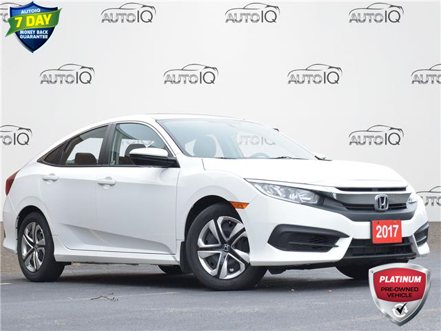 2017 Honda Civic LX (Stk: P0873) in Waterloo - Image 1 of 13